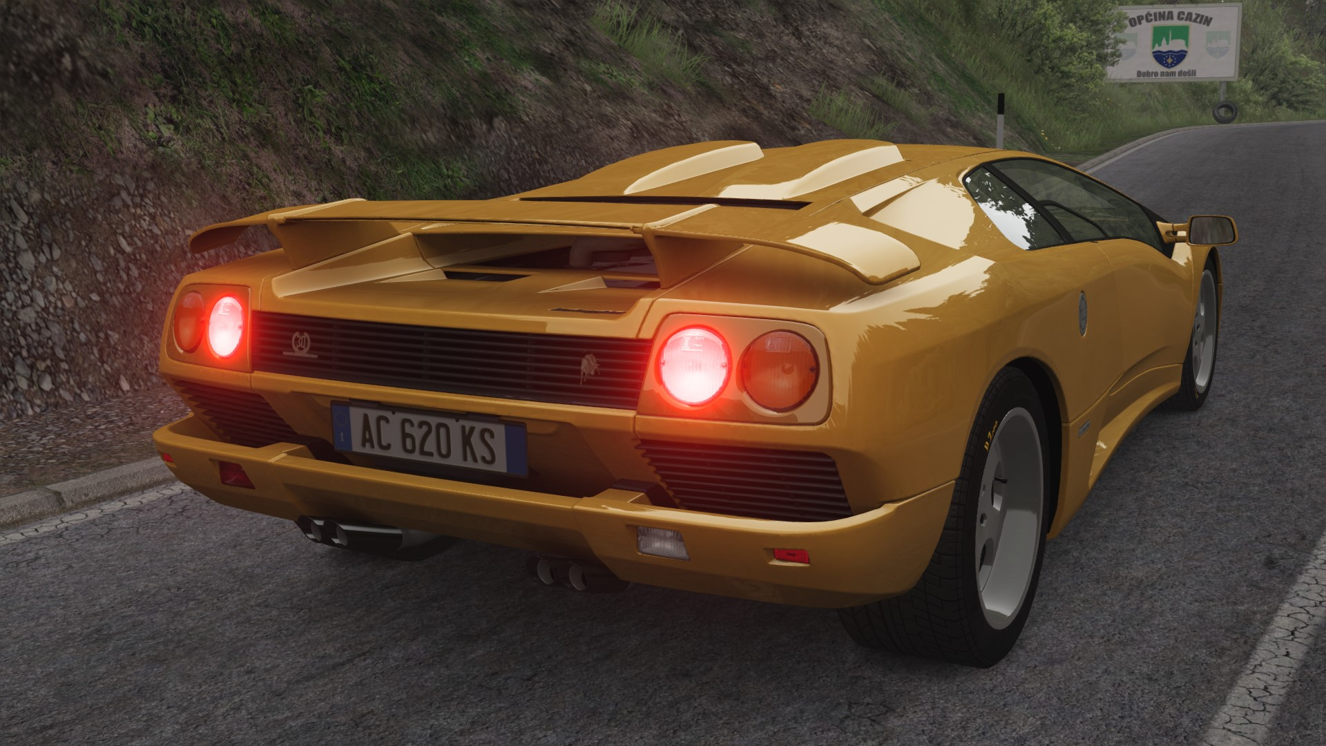 pictures information roadster lamborghini lights diablo specs light