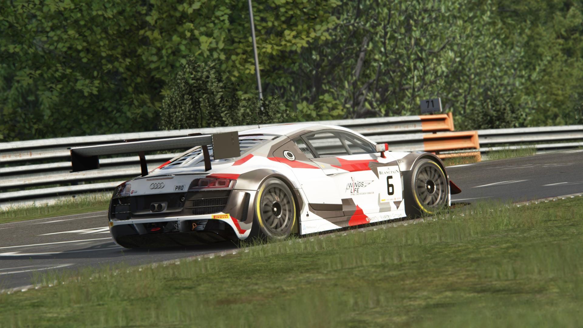 4K - 2014 AUDI R8 GT3 TEAM PHOENIX BLANCPAIN | RaceDepartment