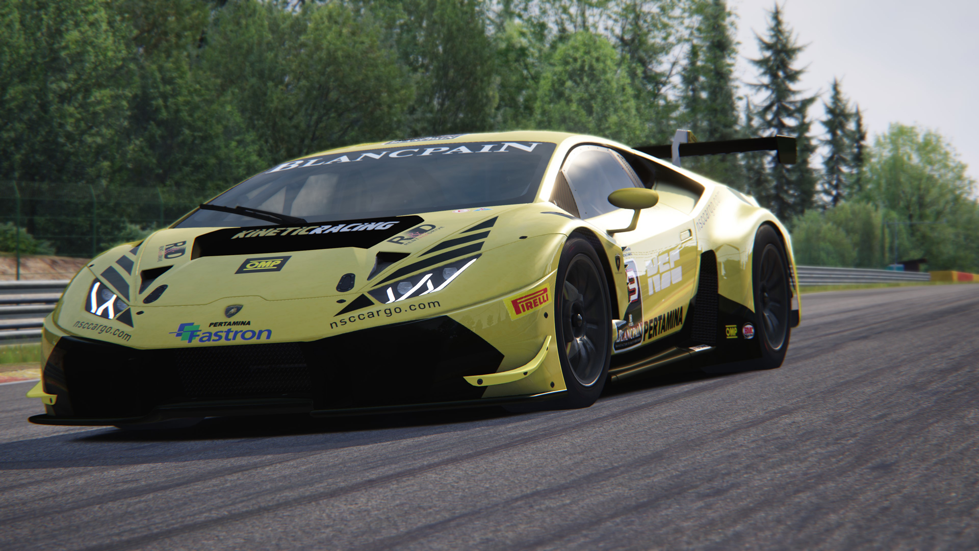 lamborghini huracan gt3 kinetik replica racedepartment. Black Bedroom Furniture Sets. Home Design Ideas