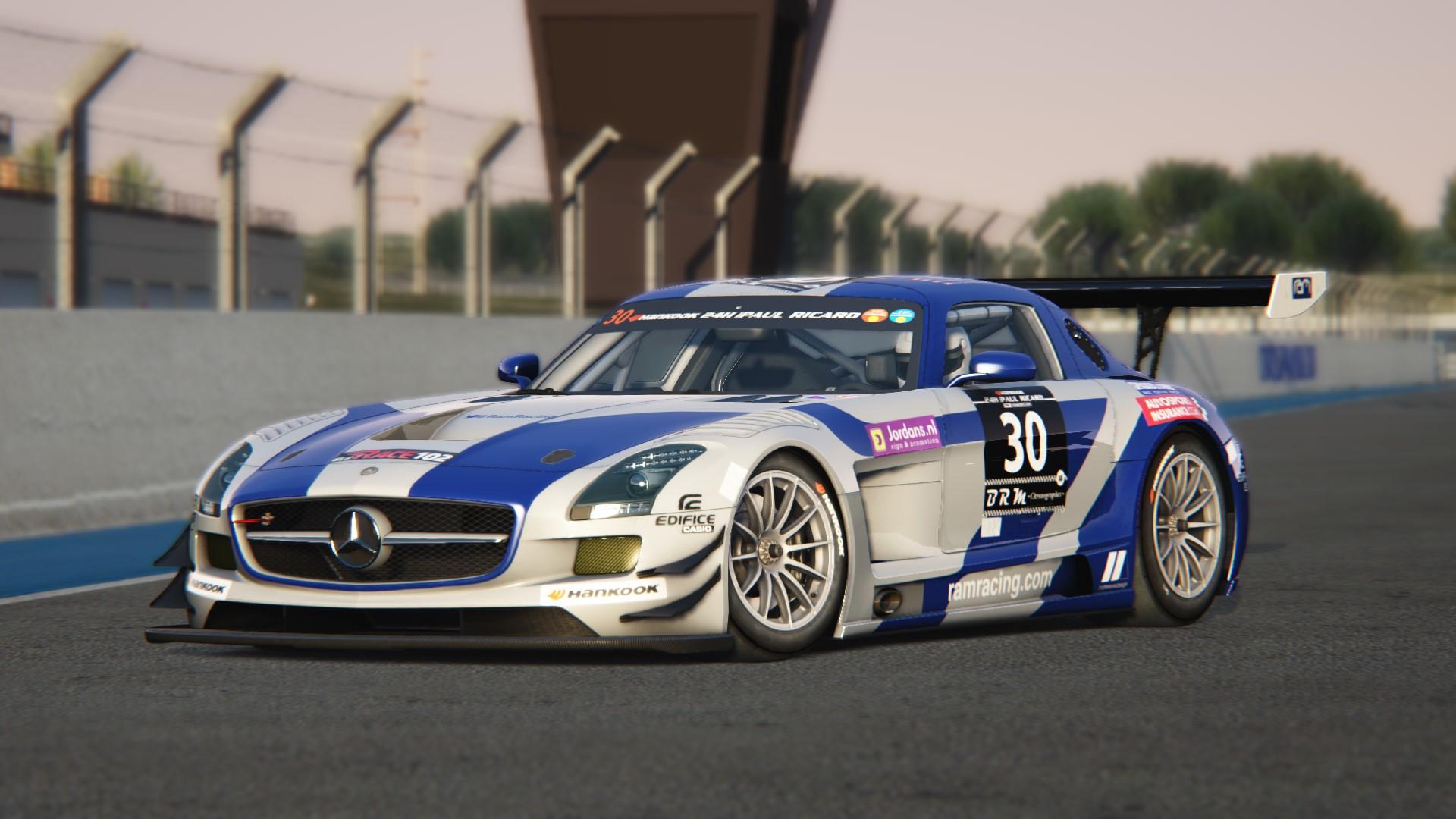 Ram Racing Mercedes Benz Sls Amg Gt3 1 0 Racedepartment