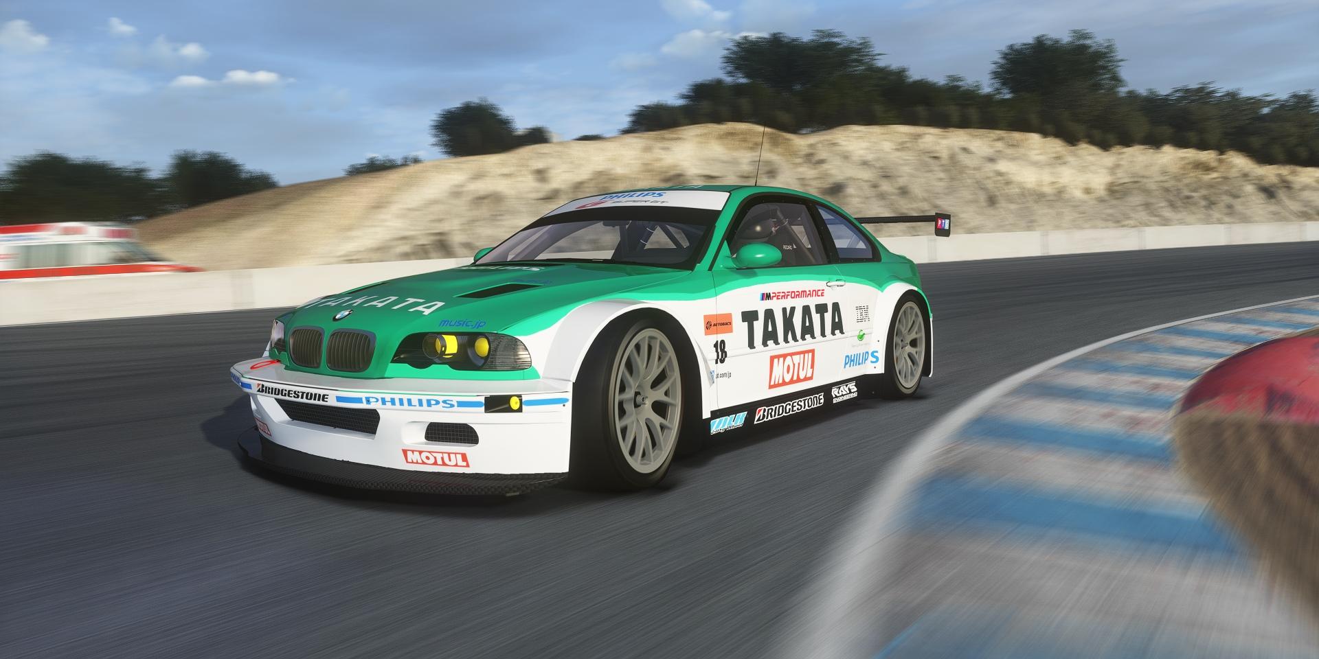 Bmw M3 E46 Gtr Gt2 Takata Skin Racedepartment