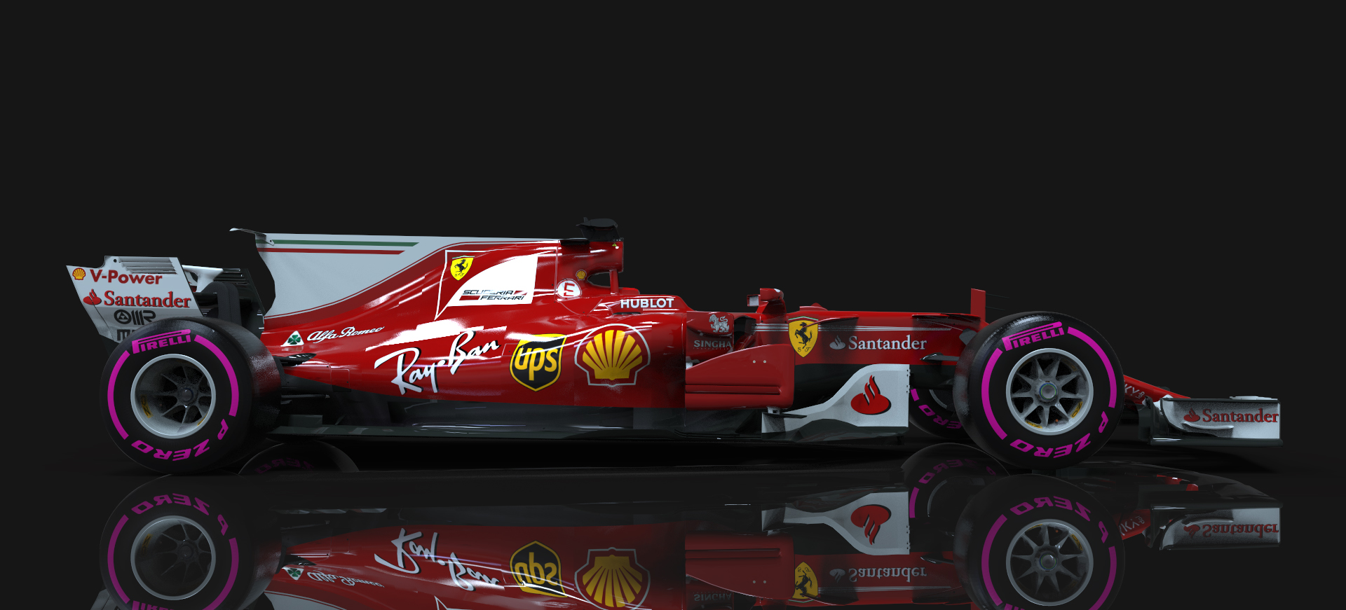 F1 2017 3D Vehicle Template