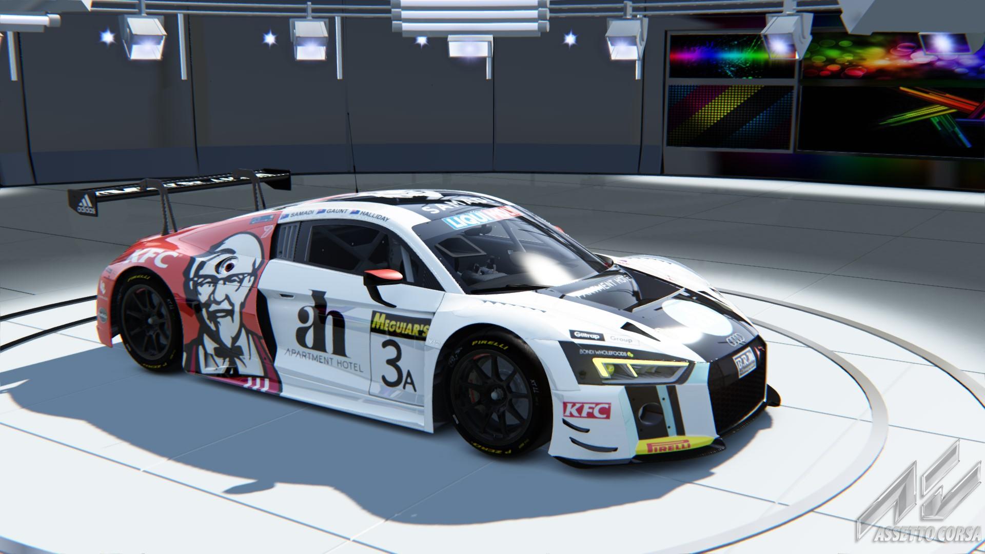 Audi r8 lms 2016 Endurance Bathurst 12 hour 2017 Team ASR