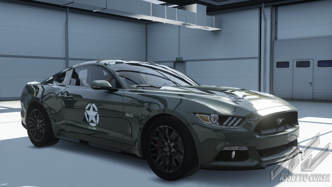 2016 Mustang Gt Premium >> Ford Mustang 2015 US Army skin | RaceDepartment - Latest