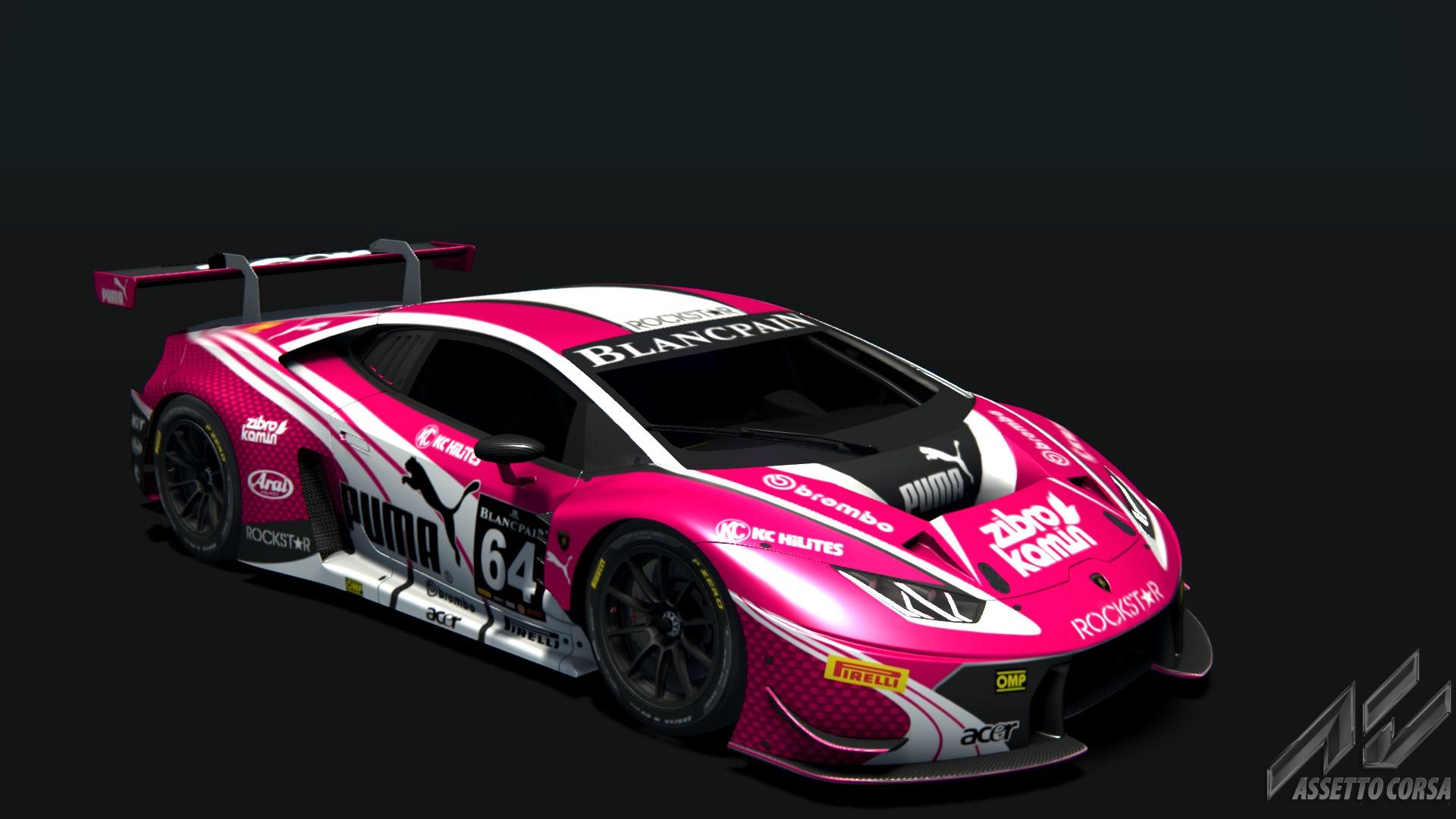 Lamborghini Huracan Puma Pink  5b00856b0
