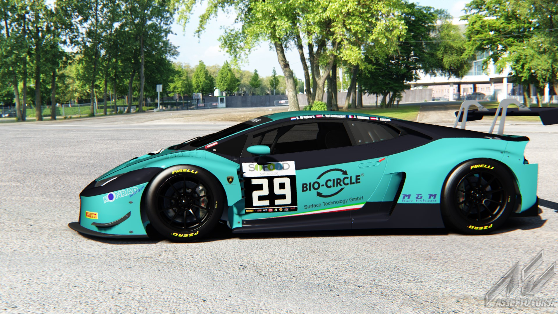 lamborghini huracan gt3 konrad motorsport 29 24h spa racedepartment. Black Bedroom Furniture Sets. Home Design Ideas