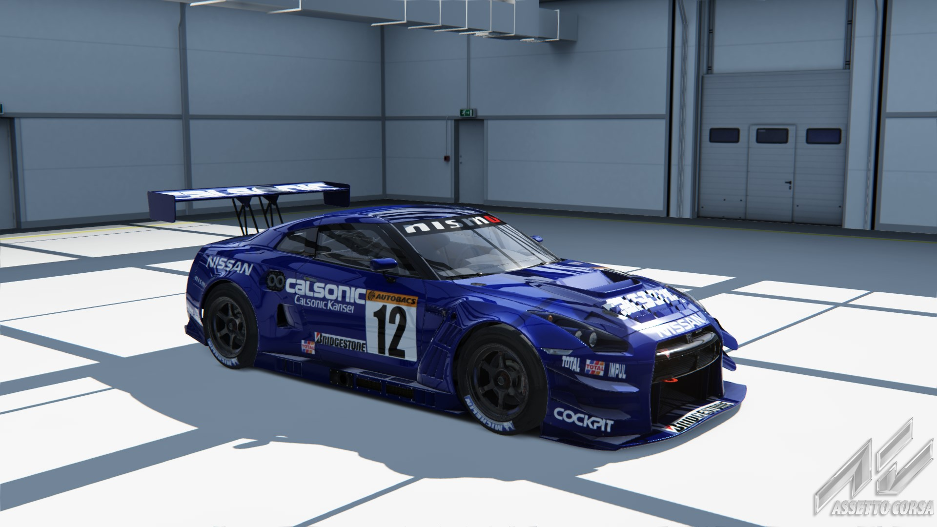 calsonic team impul skyline gt r skin for nissan nismo gt. Black Bedroom Furniture Sets. Home Design Ideas