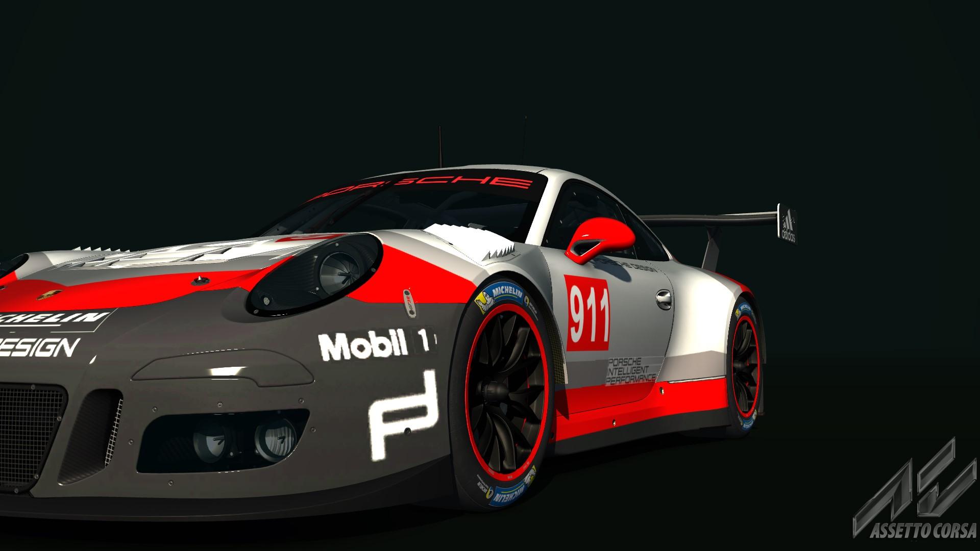 porsche 911 rsr 2017 update logo racedepartment latest formula 1 motorsport and sim. Black Bedroom Furniture Sets. Home Design Ideas