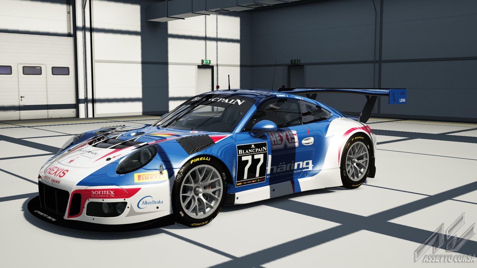 bes 2016 attempto racing porsche 911 gt3 r 77 racedepartment. Black Bedroom Furniture Sets. Home Design Ideas