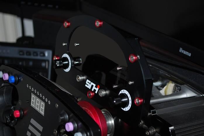 Sim Racing Hardware Wheel Plate Teaser | RaceDepartment
