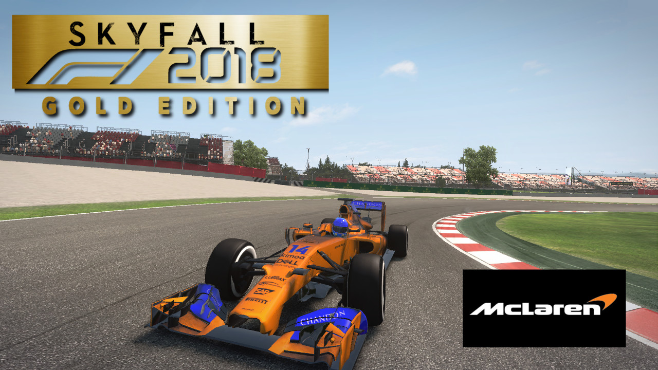 Skyfall F1 2018 Mclaren F1 Team Mcl 33 Renault Mercedes Chassis