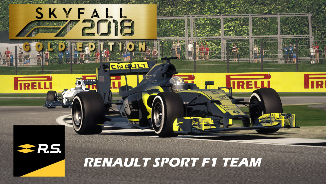 skyfall f1 2018 renault sport r renault livery mod racedepartment. Black Bedroom Furniture Sets. Home Design Ideas