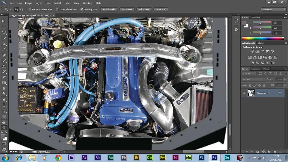Skyline GTR R34 ,Engine Bay.jpg