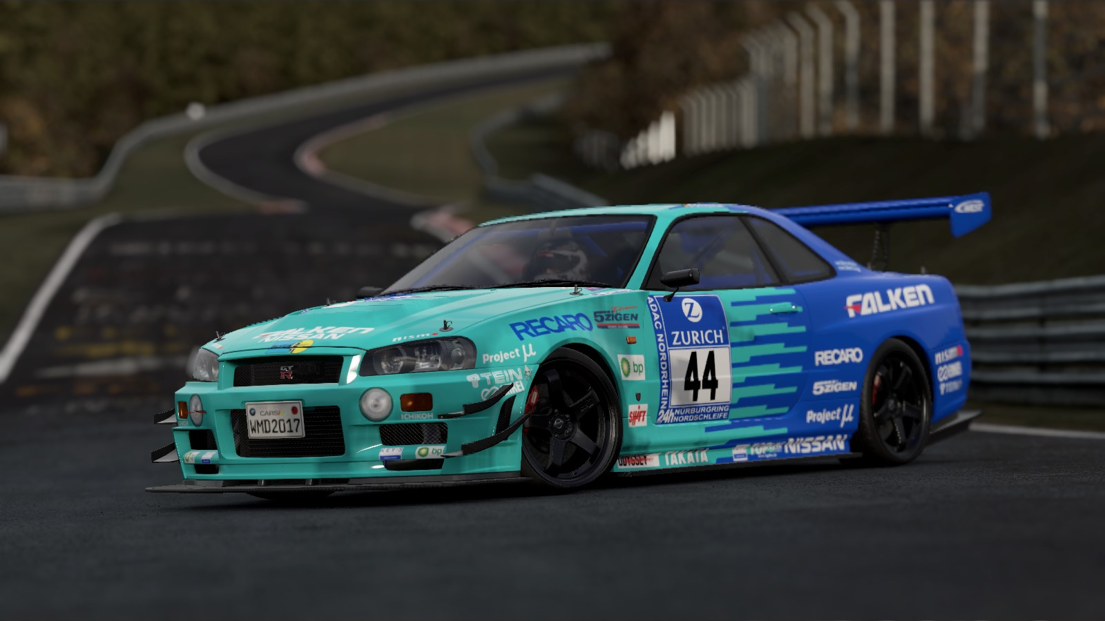 Nissan Skyline Gtr R34 Falken 24h | RaceDepartment - Latest
