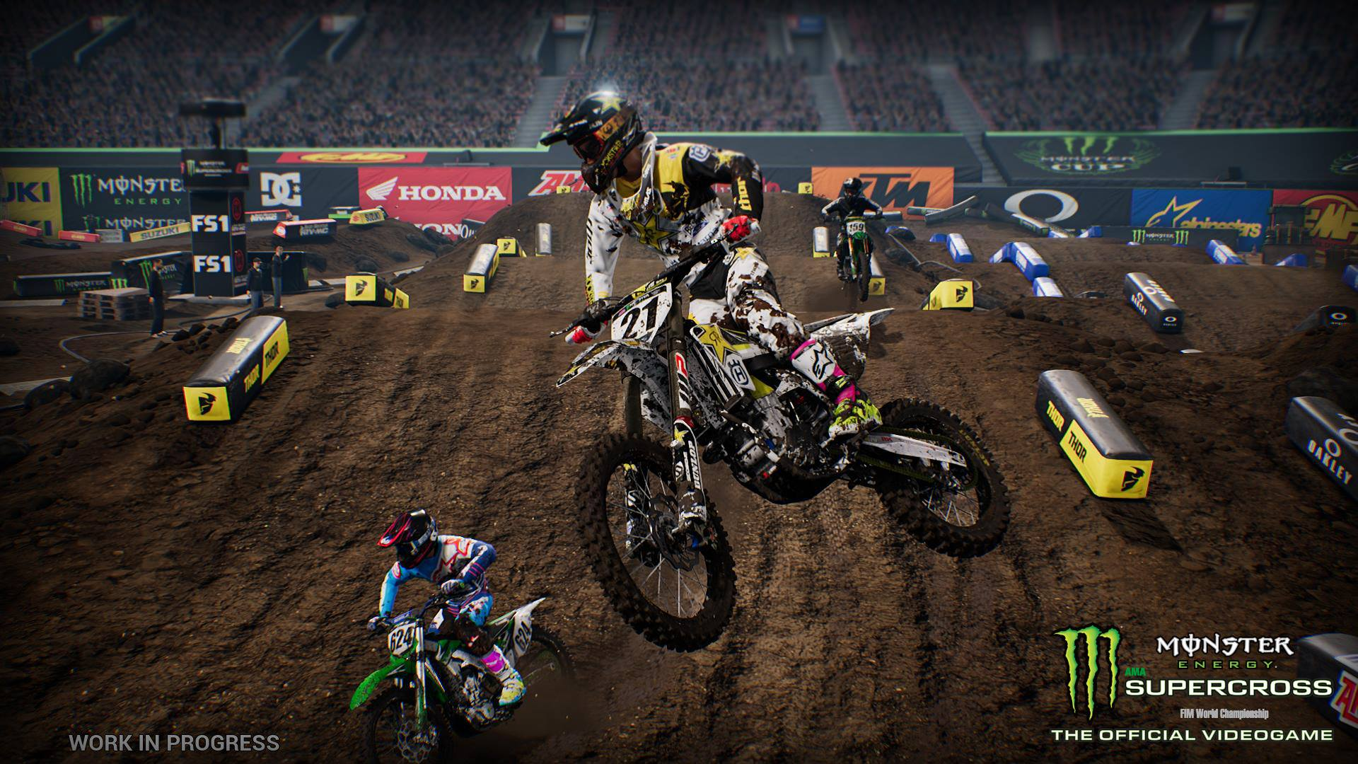 released supercross the game racedepartment. Black Bedroom Furniture Sets. Home Design Ideas