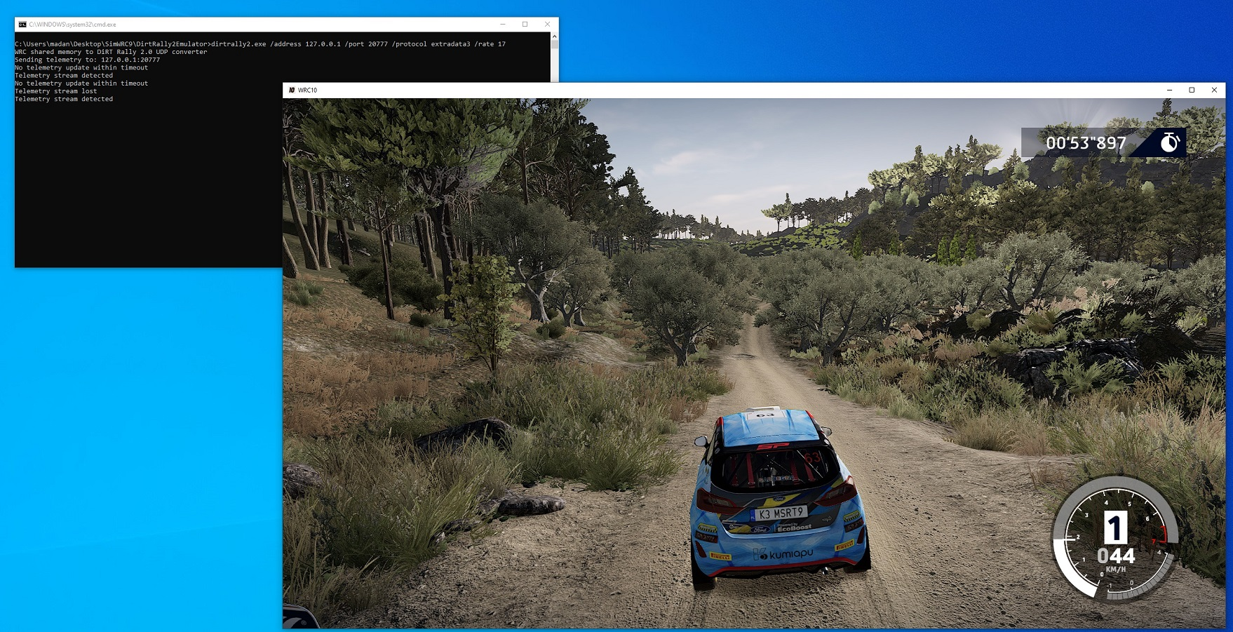 Telemetry stream detected for WRC10 using WRCTelemetry patch.jpg