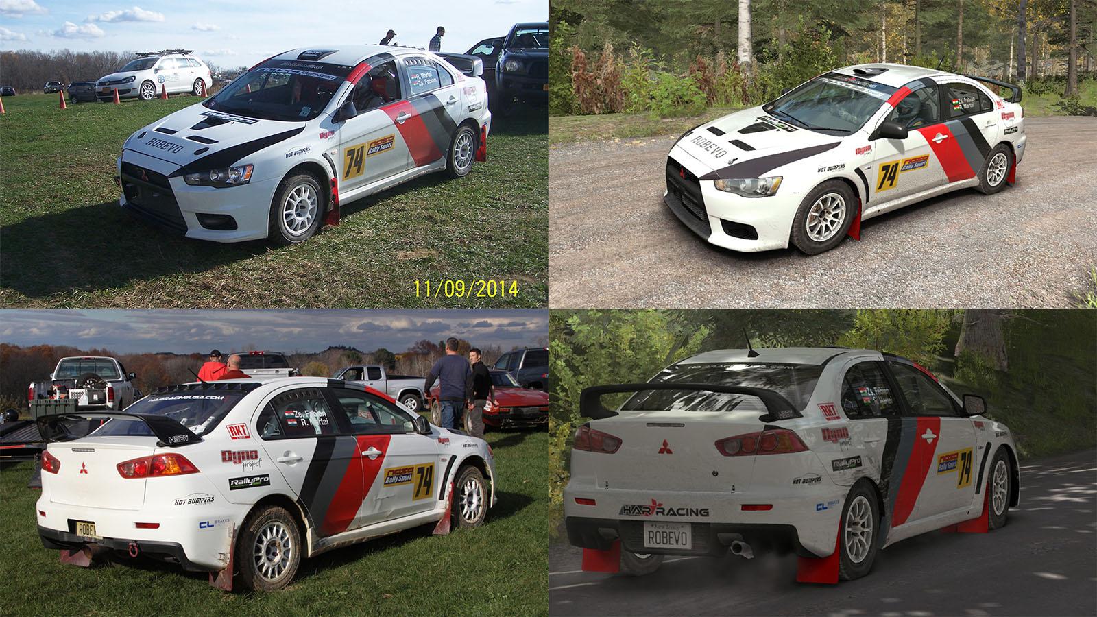 Mods - Mitsubishi Lancer Evolution X - Robevo Rally | RaceDepartment