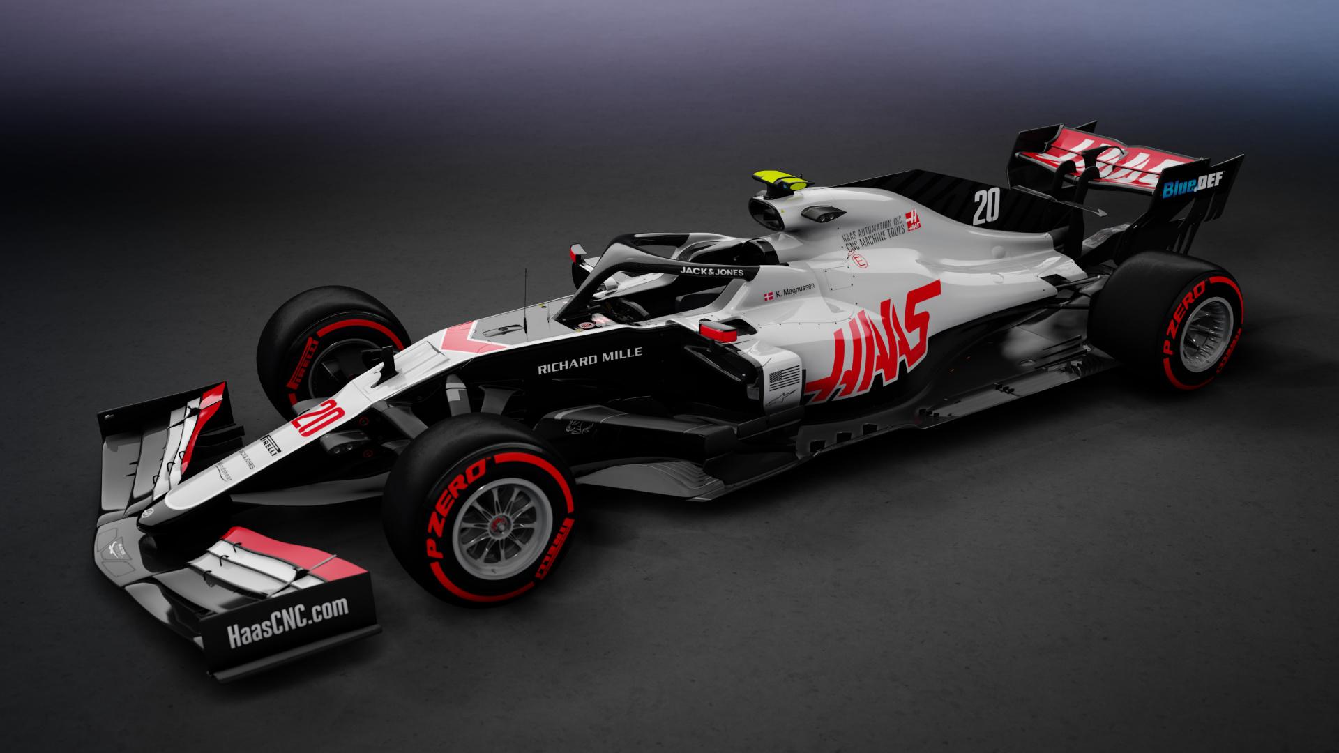 2020 Haas F1 Team Vf 20 Rss Fh19 4k Hd Racedepartment