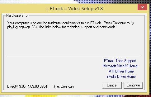 Video Driver error.JPG