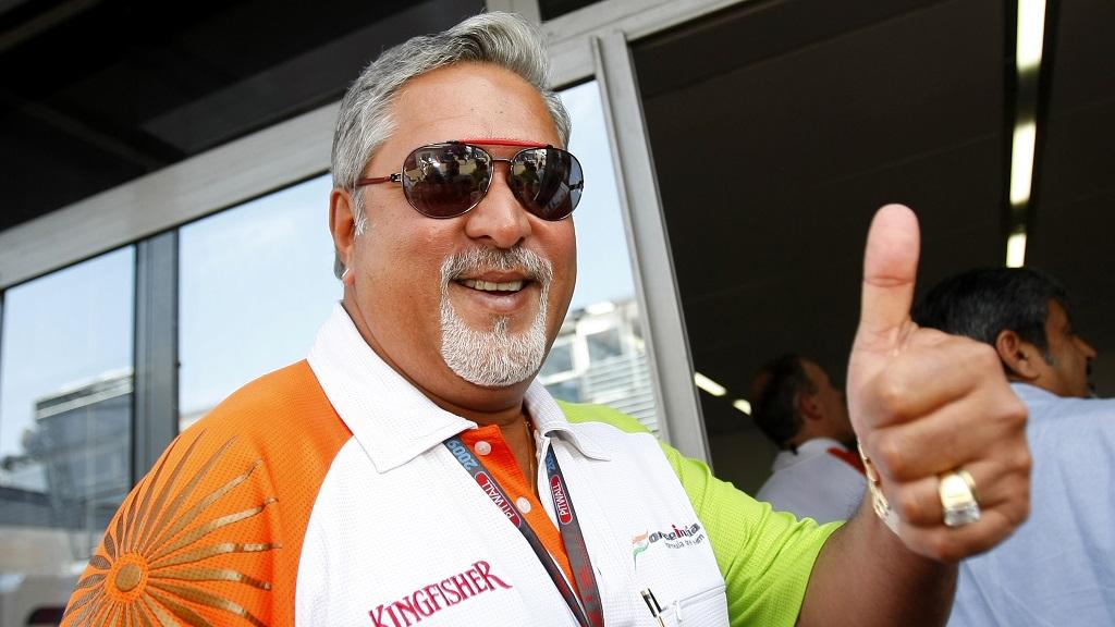 Vijay Mallya Force India Arrested.jpg