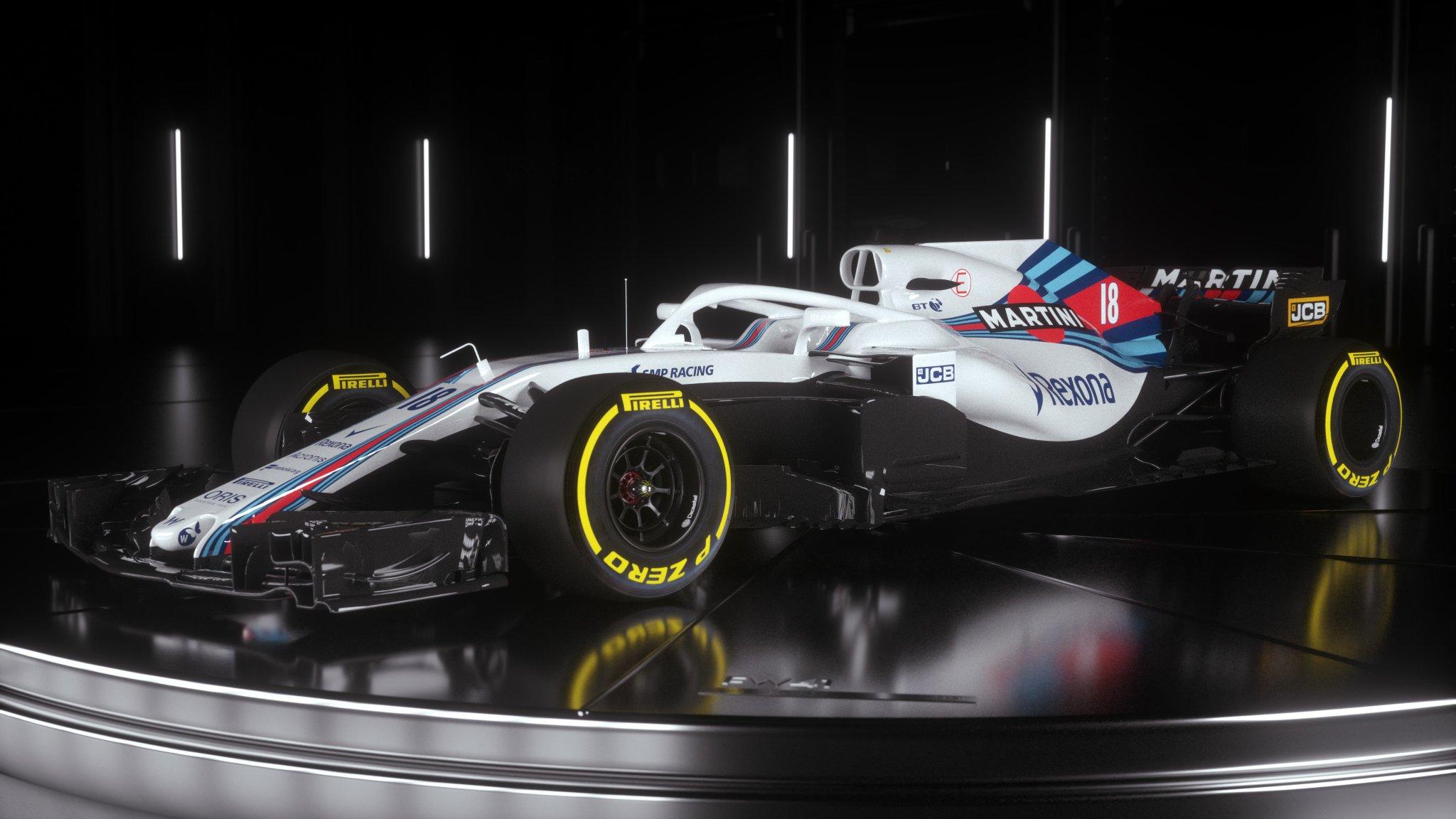 Revealed: Williams FW41 - RaceDepartment 2018-02-17 15:05