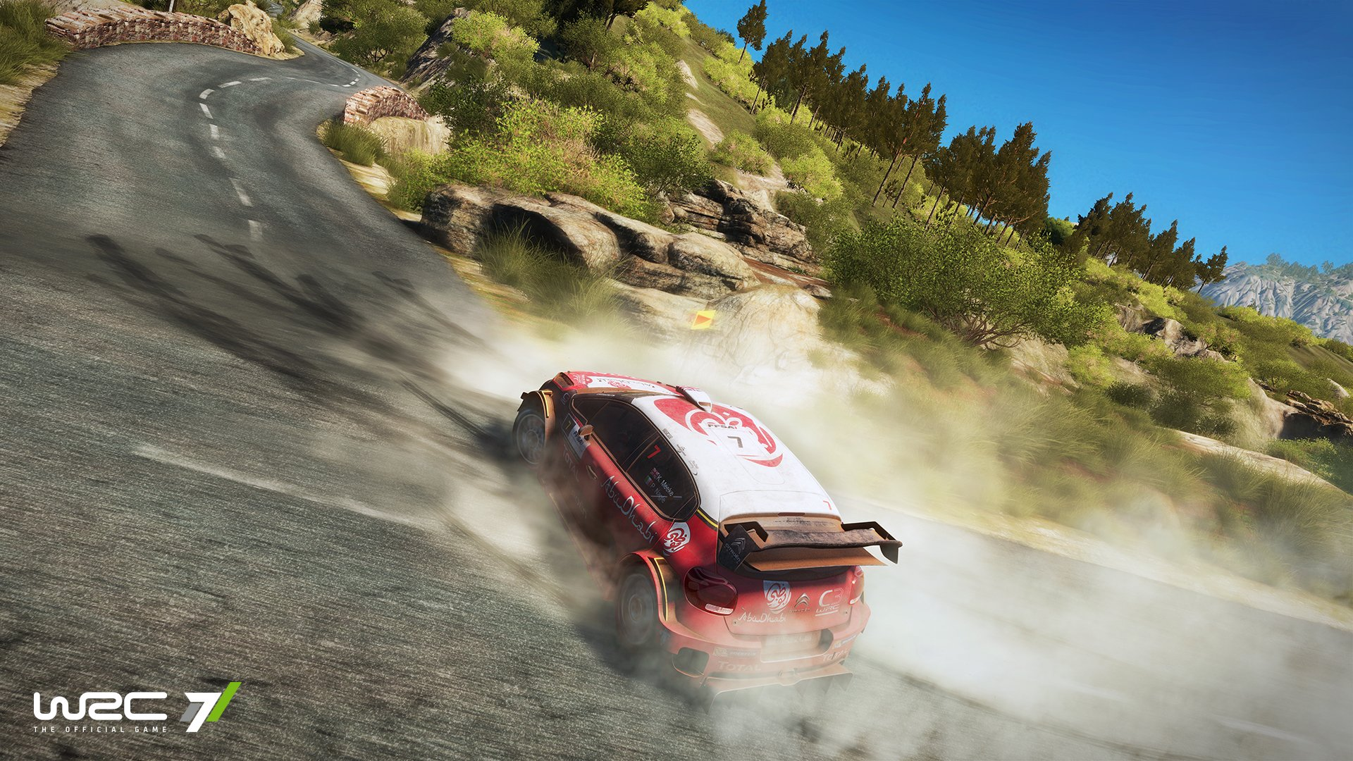 new wrc 7 trailer around the world in 13 stages. Black Bedroom Furniture Sets. Home Design Ideas