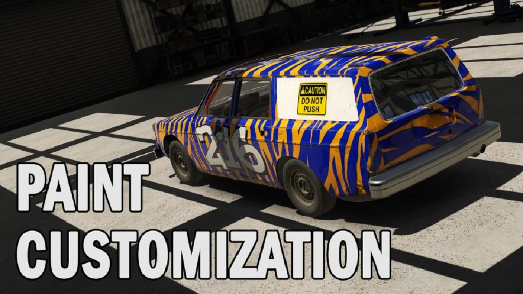 Check out Paint Customisation Coming Soon to Wreckfest