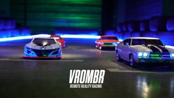 Vrombr - First Remote Reality Racing game for smartphone in 5G