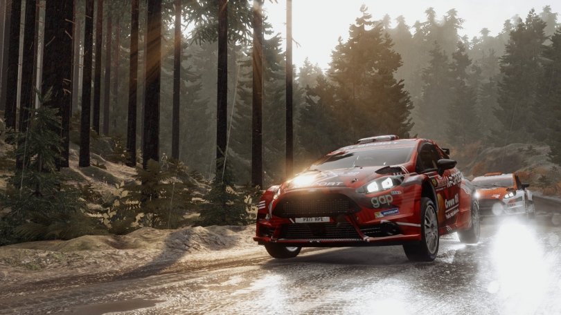 WRC 7 Updated on PlayStation 4