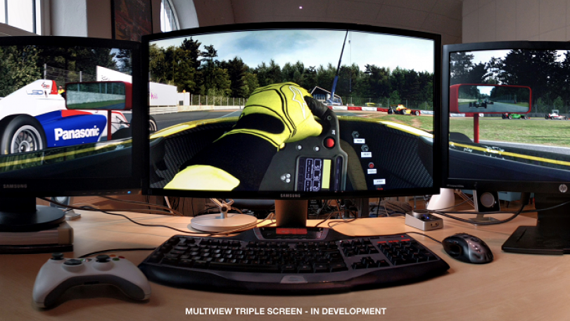 RaceRoom Racing Experience: Triple Screen Support Upcoming!