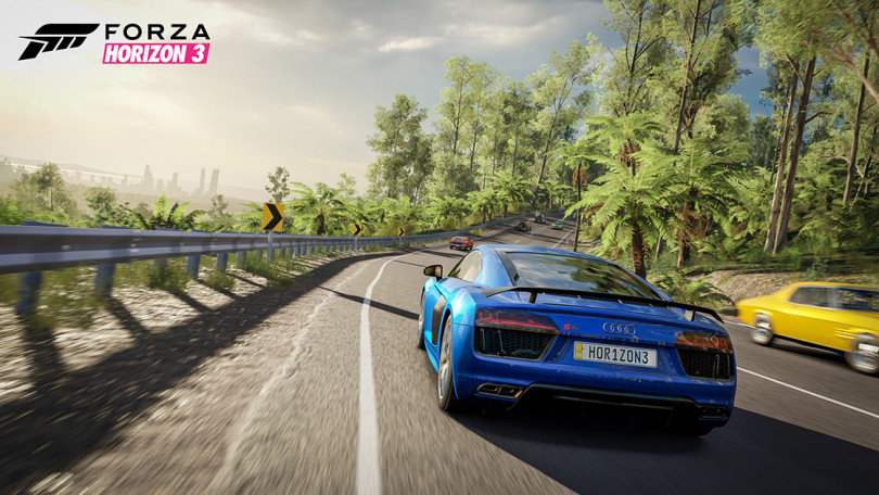 Forza Horizon 3 Goes 4K With New Xbox One X Update