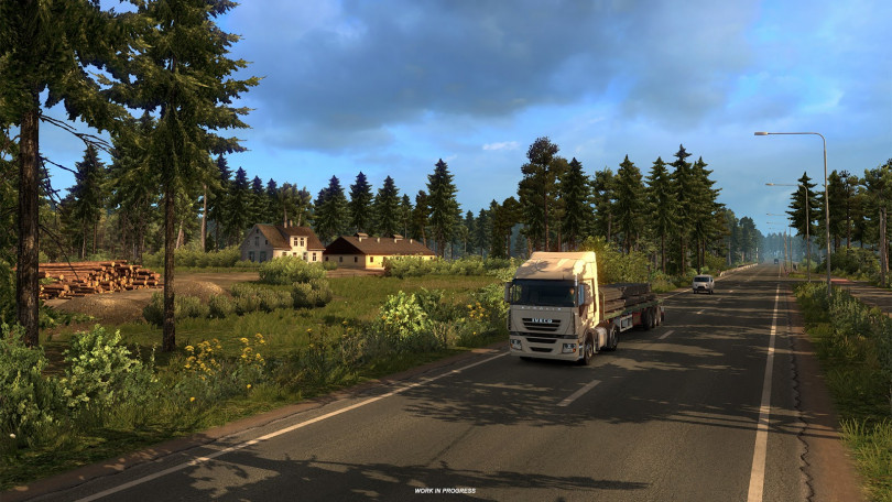 SCS Software Reveal New Licence and WIP Location Development