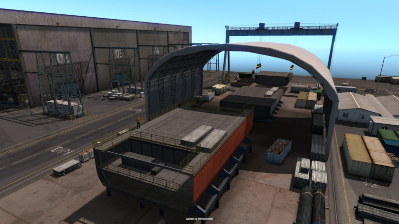 American Truck Sim Oregon Industry Previews Revealed