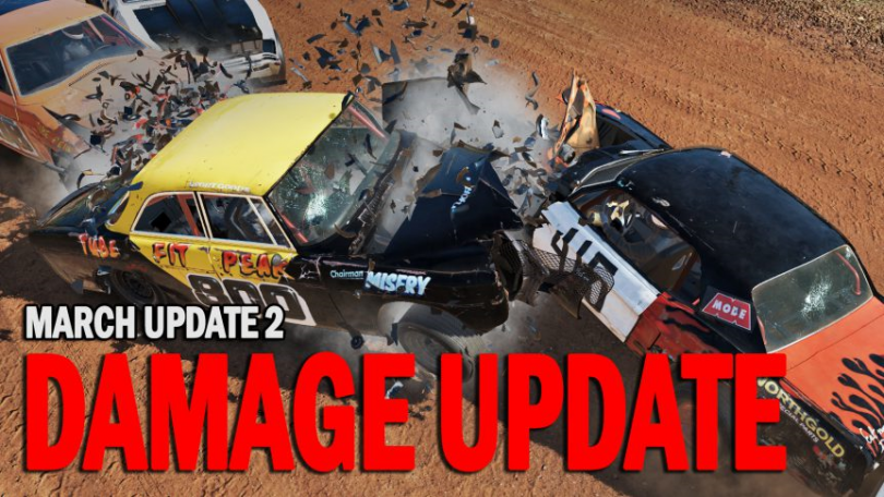 Wreckfest March Update 2 and Other Fixes Released