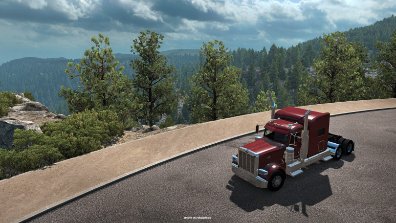 New Tioga Pass Mountain Previews for ATS Released