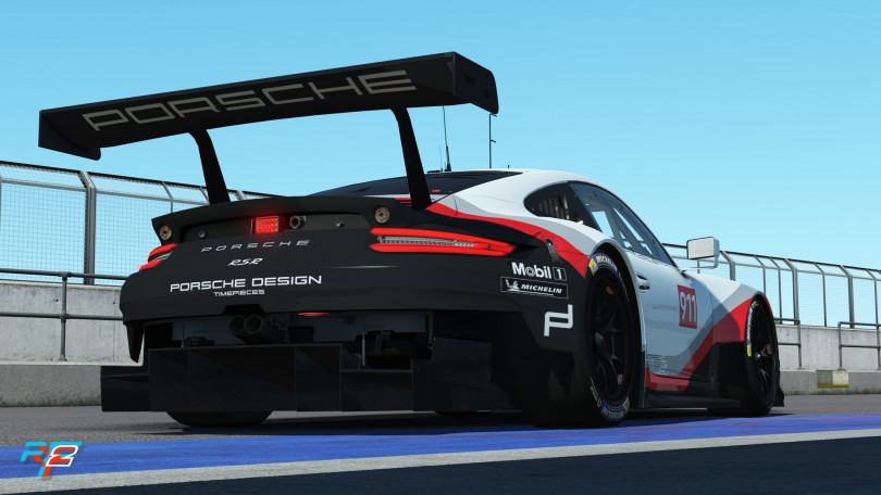 Porsche Coming to rFactor 2 - May Roadmap Released