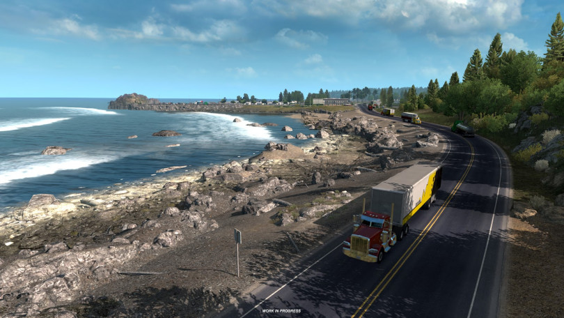 More American Truck Sim Oregon Previews