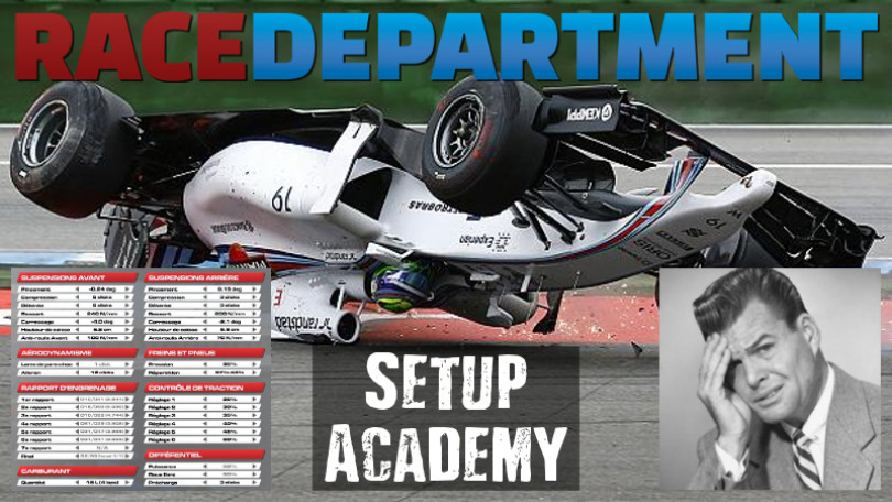 Introducing: The Special RaceDepartment Setup Academy