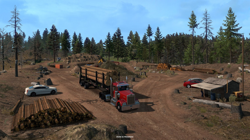 Got Wood? 10-4 Good Buddy! American Truck Simulator Previews