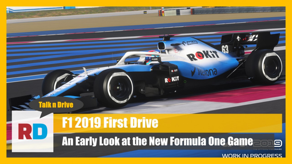 F1 2019: First Look (Video)