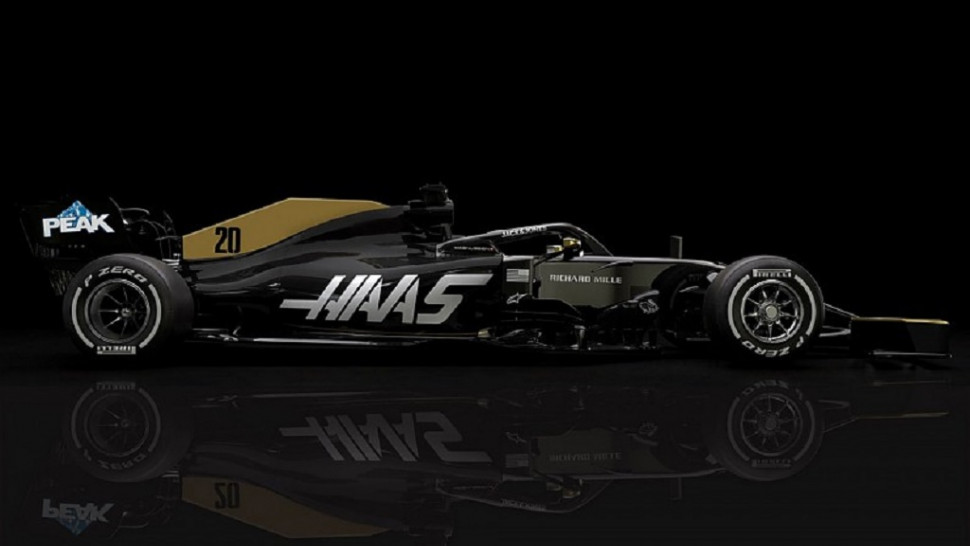 Check Out The New Haas F1 Livery - Now Minus Rich Energy Logos