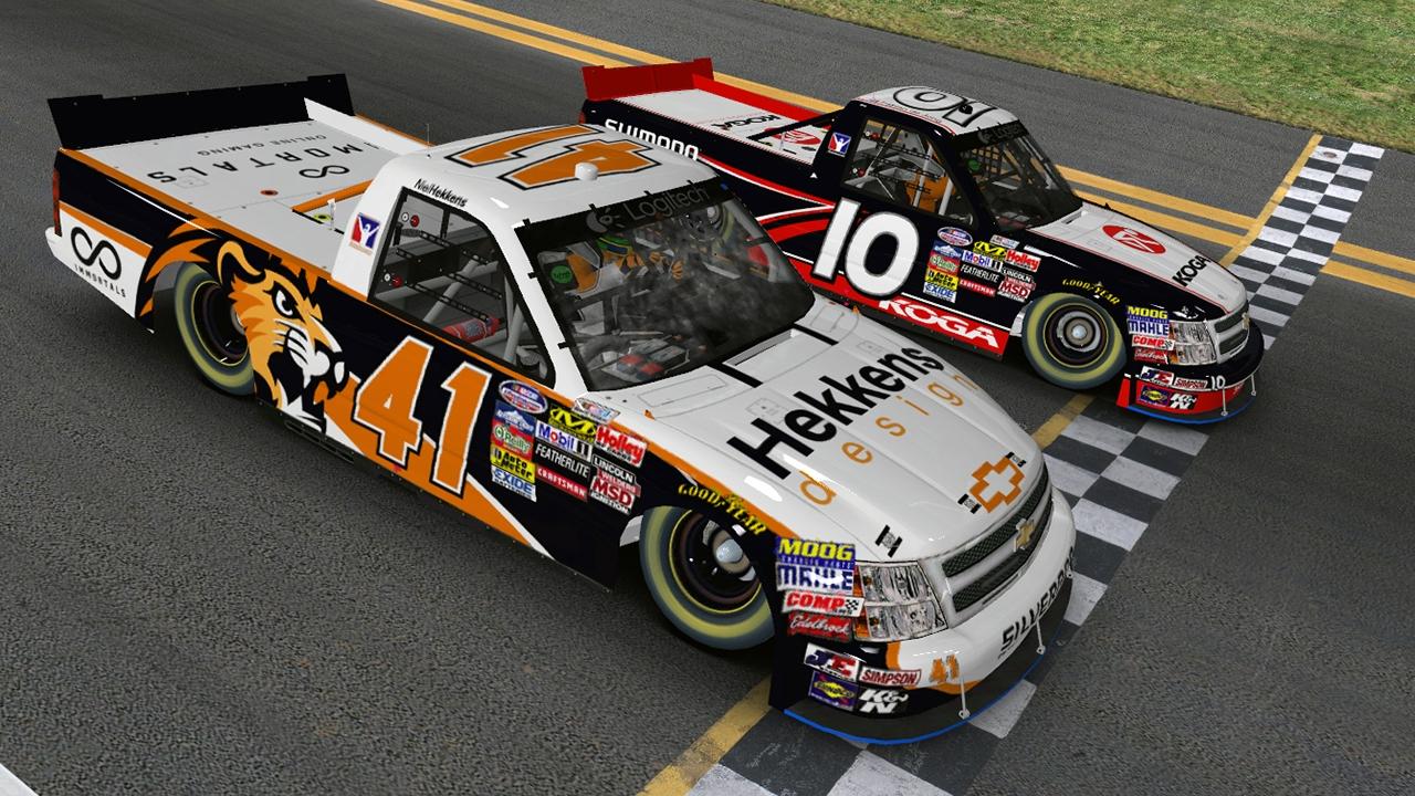 Daytona finish