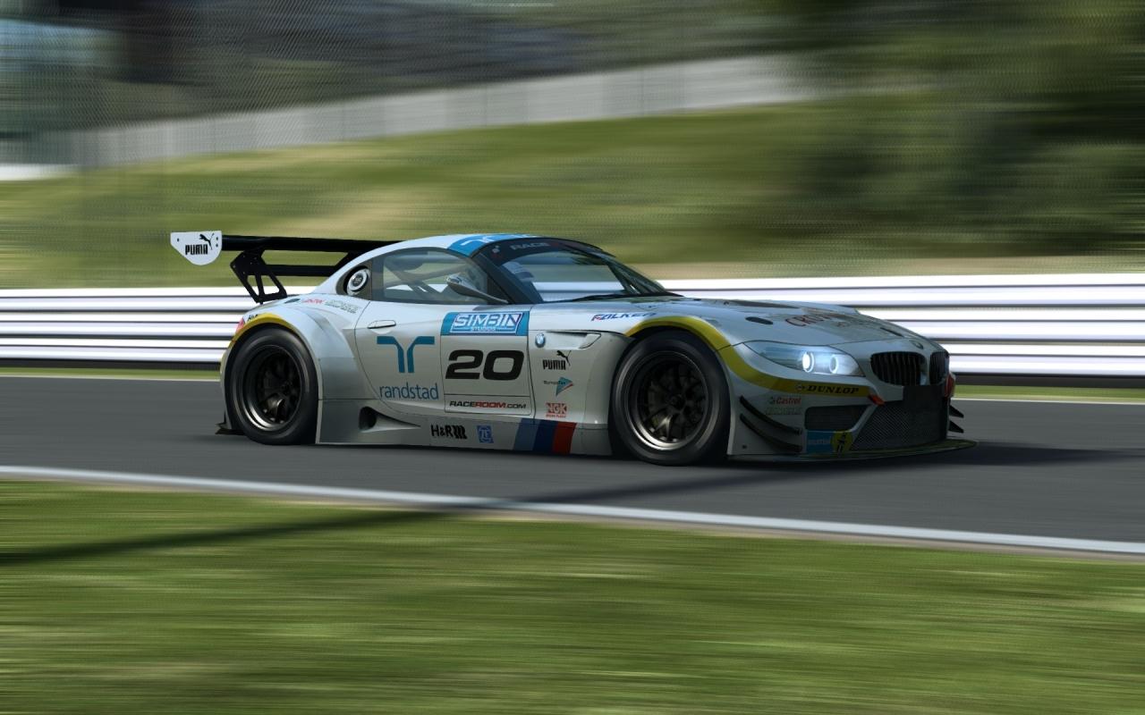 BMW Z4 GT3 at Suzuka