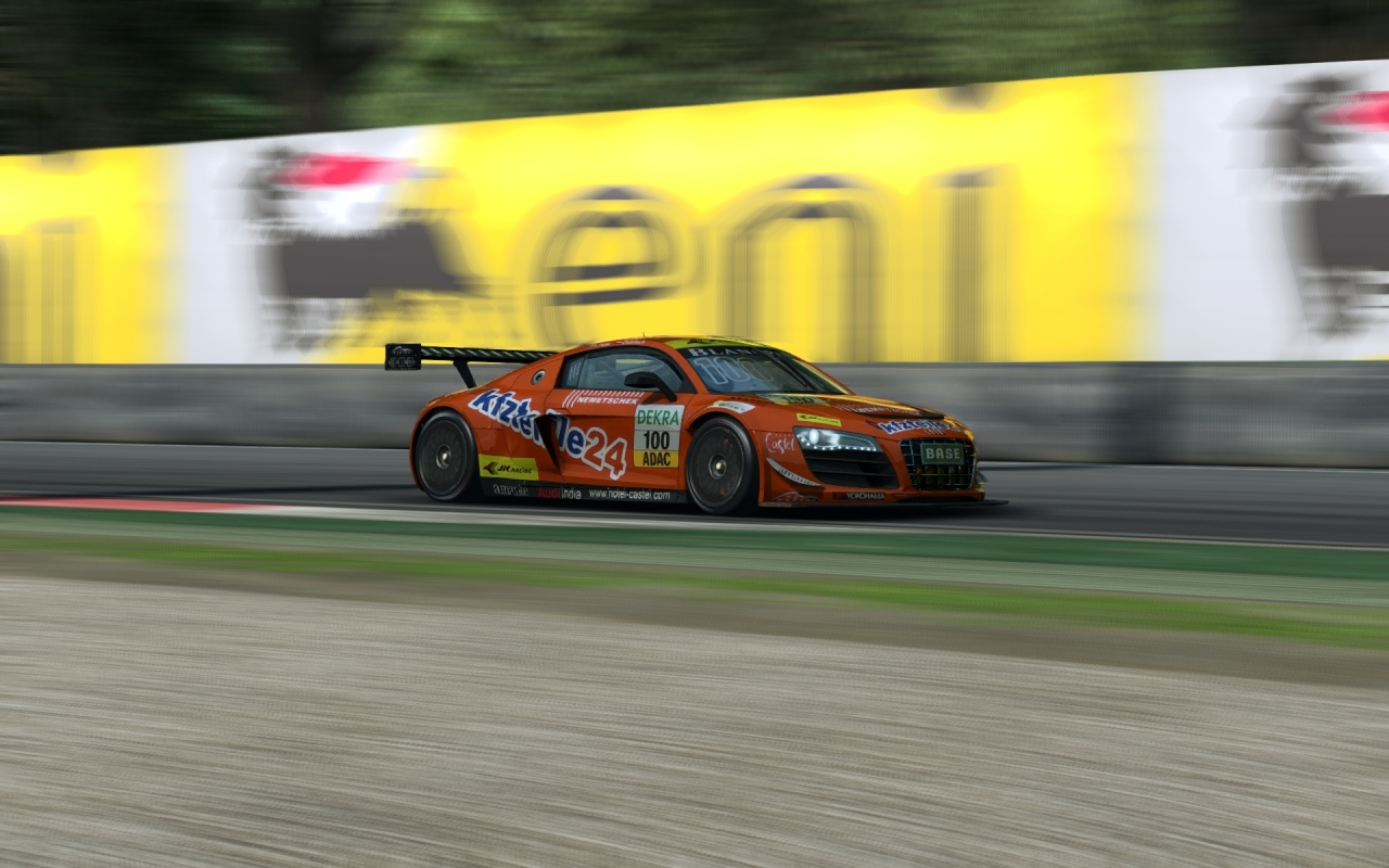Audi R8 LMS Ultra at Monza