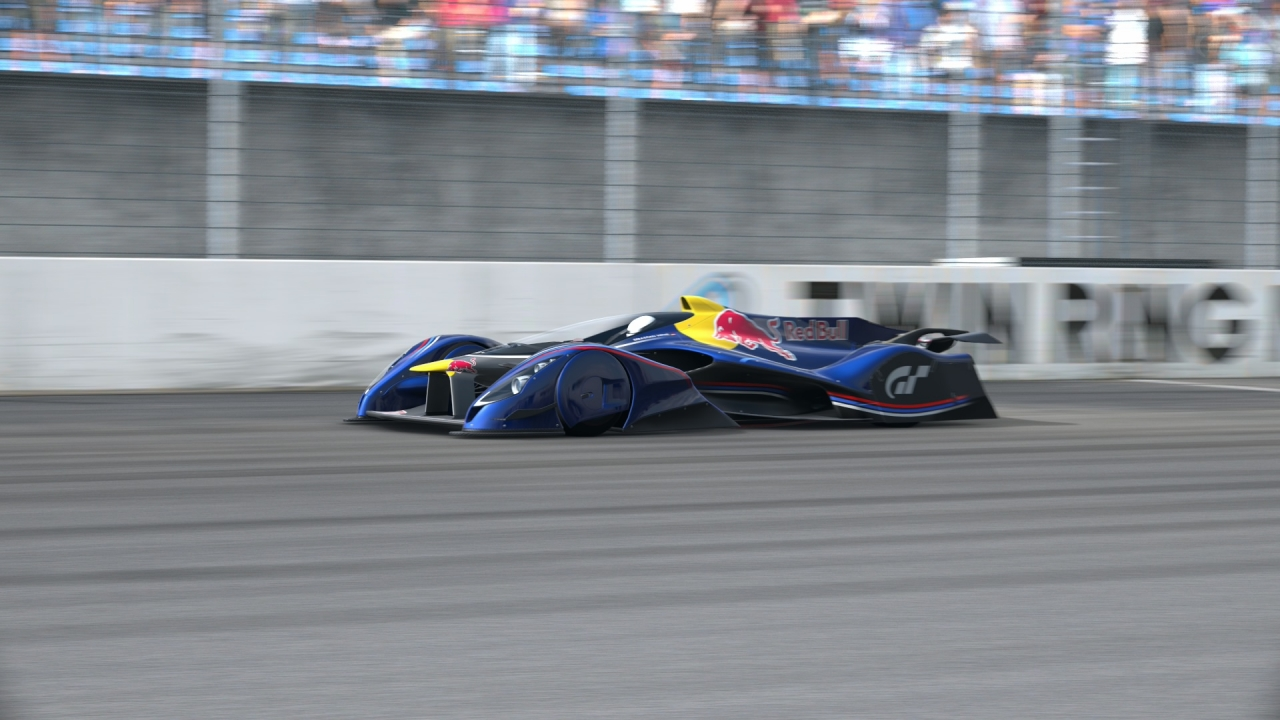 Red Bull X2014 Fan Car #TwinRingMotegiOvalCourse