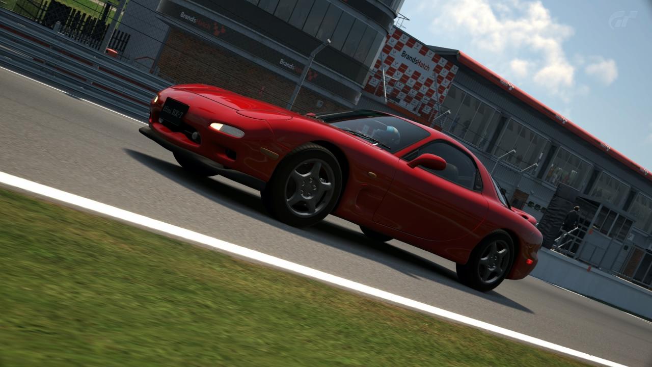 Mazda RX-7 FD3S #BrandsHatchIndy