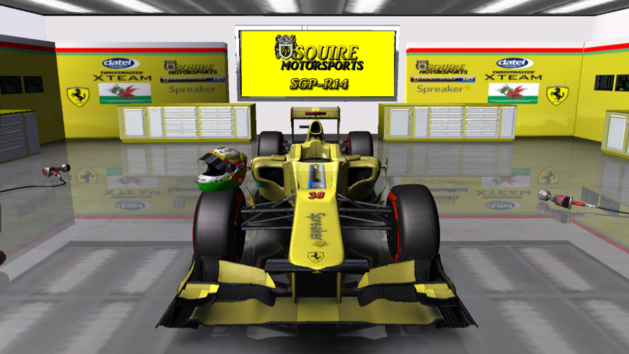rFactor Squire Motorsports SGP-R14 F1 Car (2013 Sauber shape)