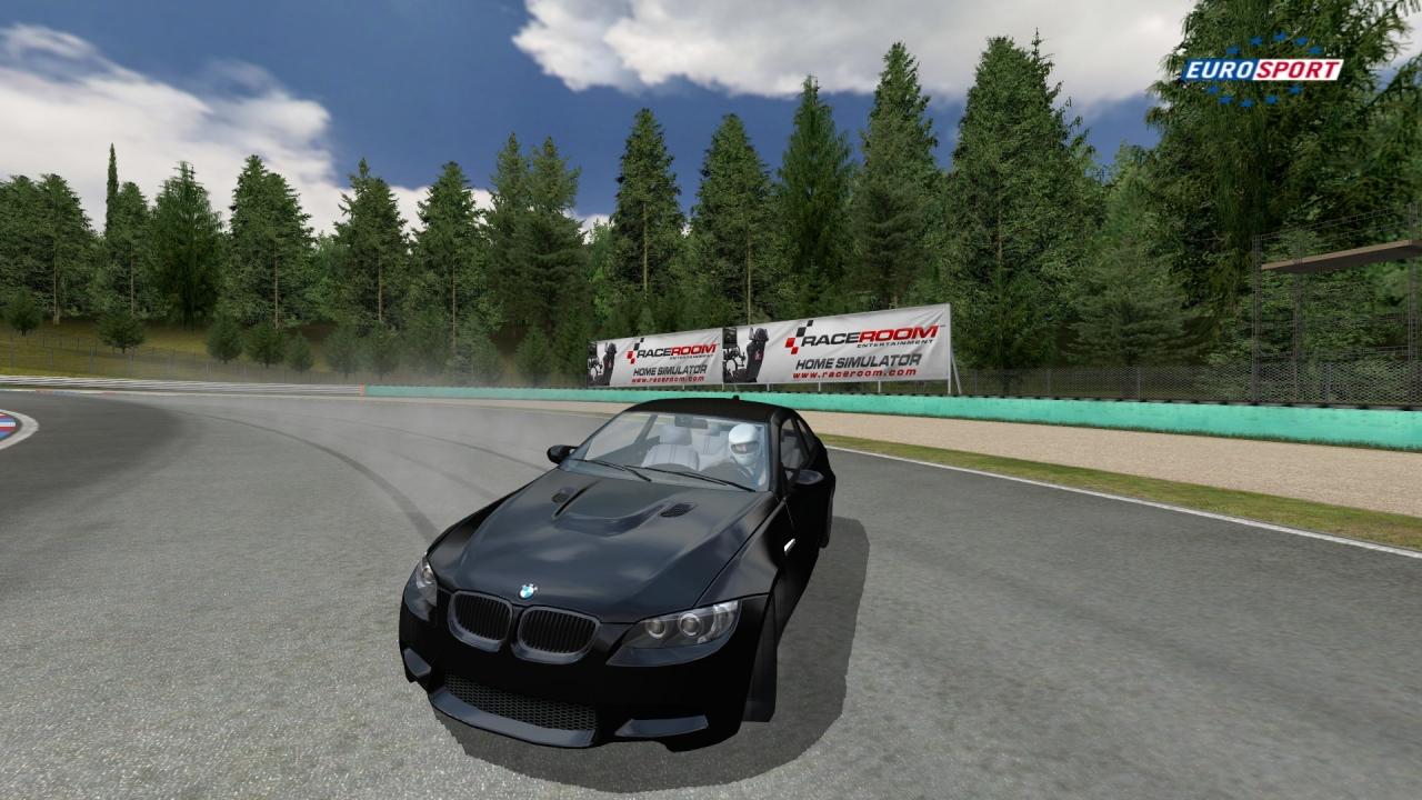 BMW M3 Brno drifting