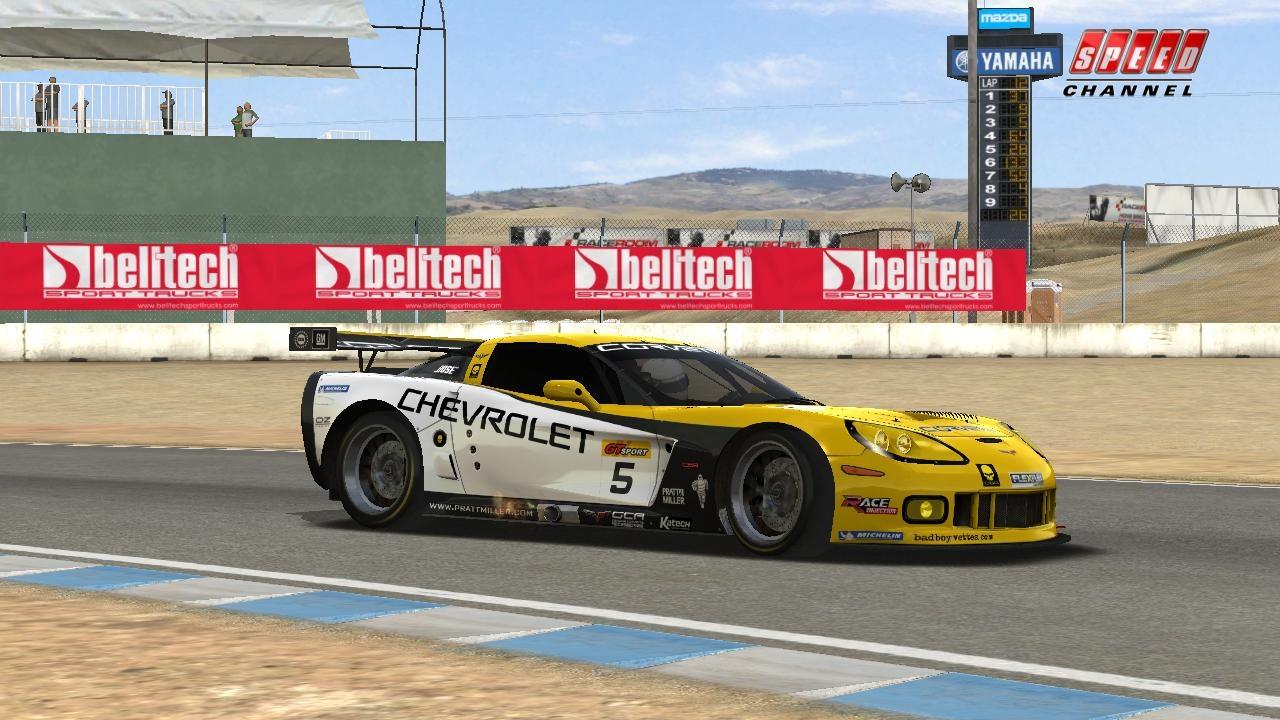GTR Evo Corvette C6-R