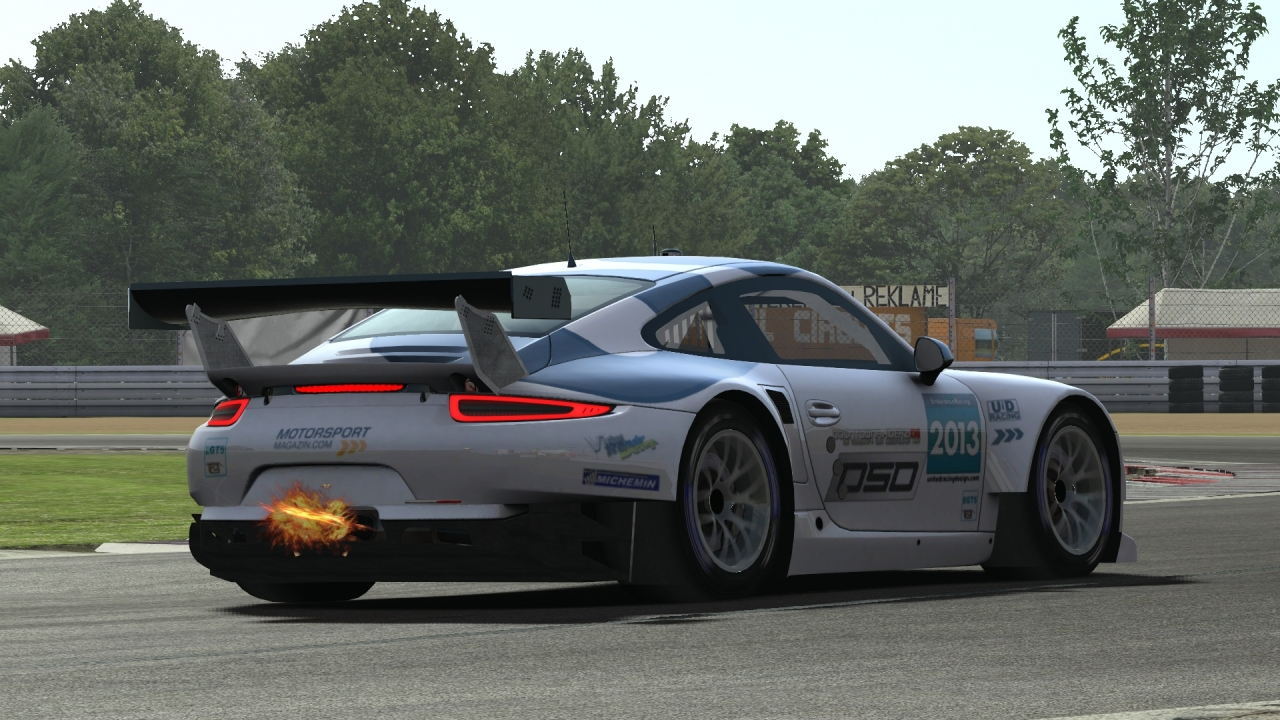 """So called """"Darche"""" of the EGT mod  @ Poznan Circuit"""